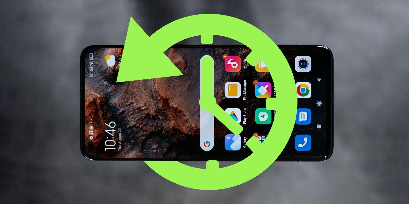 recuperar Dados de aplicativos excluídos no telefone Android