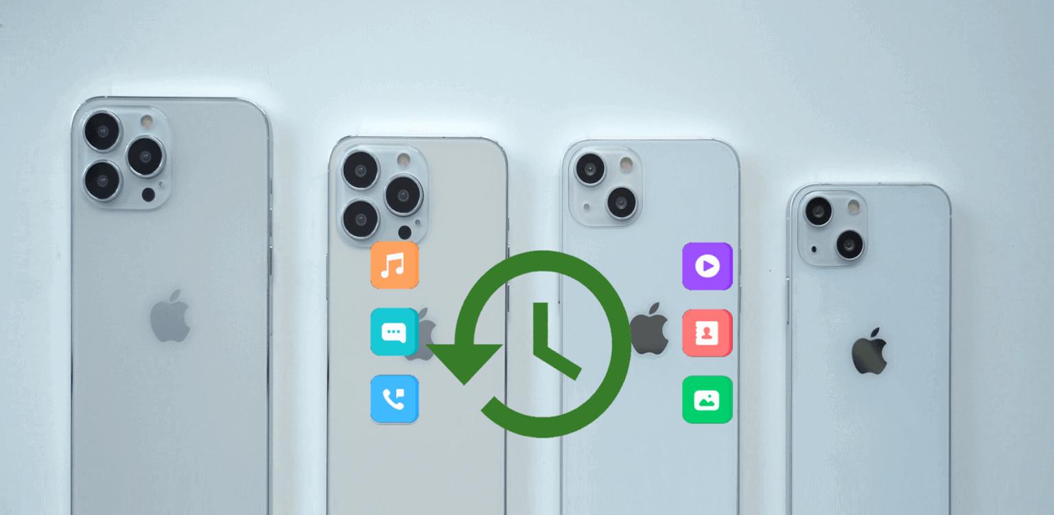 Recuperar Dados perdidos iPhone 13/13 Pro/13 Pro Max/13 Mini